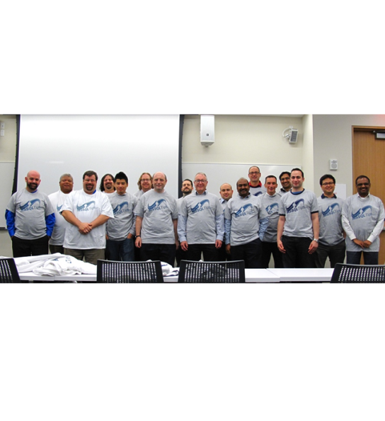 Members of the New York City SQL Server Users grou