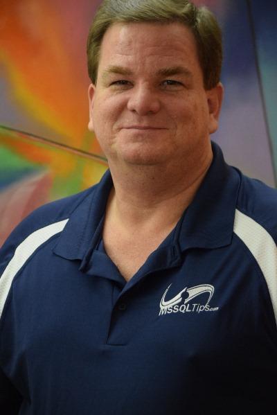 Author Ron Kirchgessner sportin' his new MSSQLTips