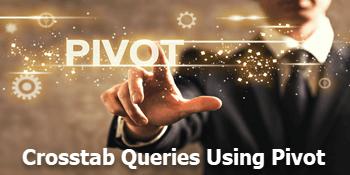 Crosstab queries using PIVOT in SQL Server