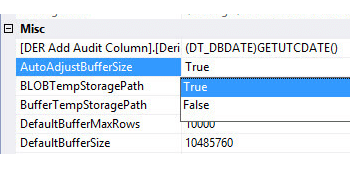 Improving data flow performance with SSIS
