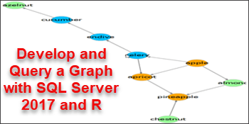 develop and query a graph with sql server 2017 and r part 1