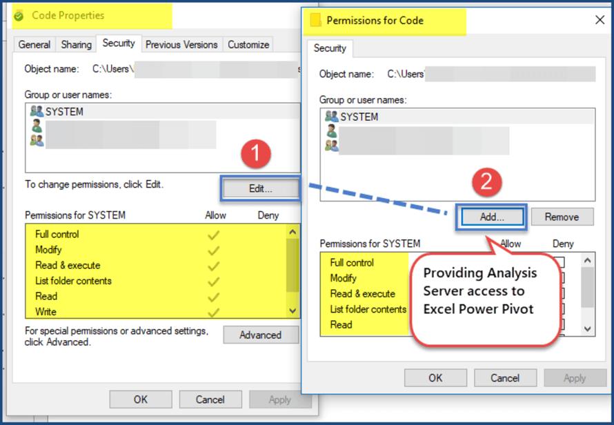 提供分析服务器访问电源枢轴
