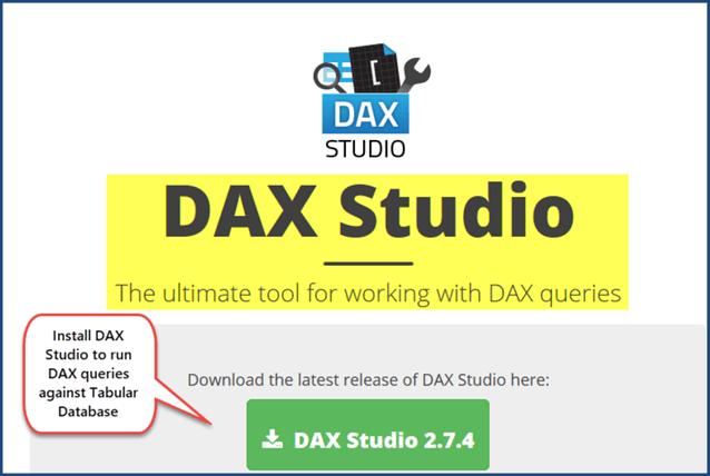 安装dax工作室