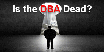 Is the DBA Dead?... or alive and preparing for the future