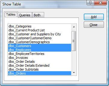 Microsoft Access Pass Through Queries to SQL Server