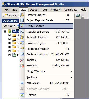 Open SQL Server Management Studio 2008 R2