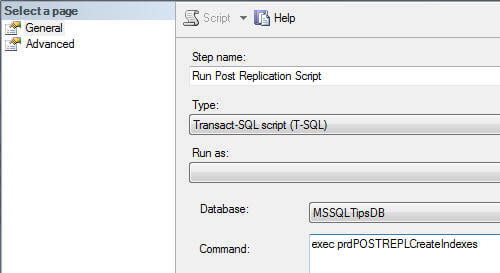 Replication Snapshot SQL Server Agent Job on the Subscriber