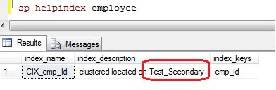 how to use clustered index in sql server