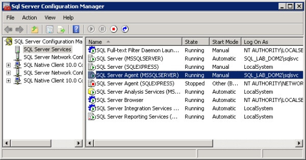 Veryify SQL Server Agent Service Account