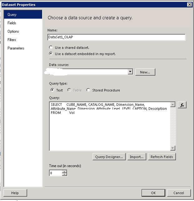 DataSource Dataset