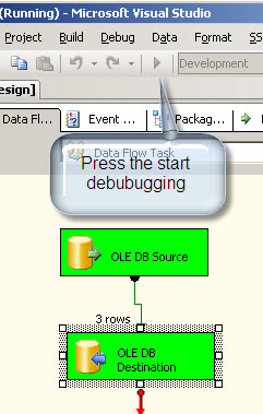 Run the SSIS package