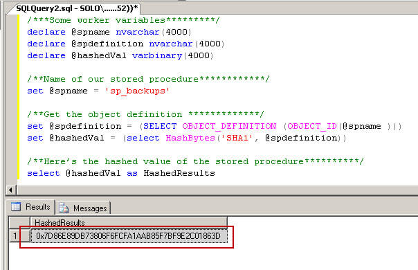 How to write stored procedures in sql