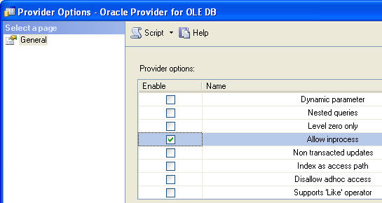 How to setup linked servers for SQL Server and Oracle 64 bit