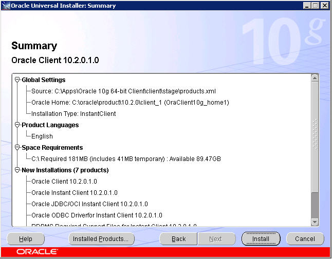 download oracle client 32 bit windows 7