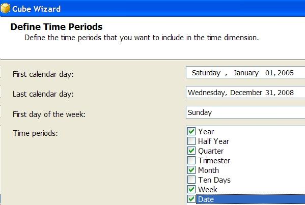 define time periods