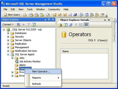 How To Setup Sql Server Alerts And Email Operator