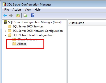 How to setup and use a SQL Server alias