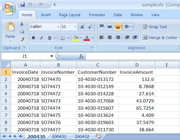 Retrieve Excel Schema Using SQL Integration Services SSIS