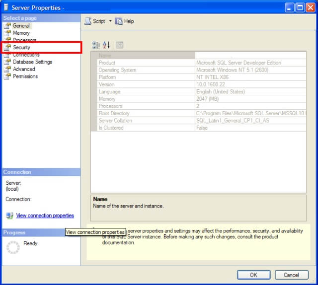 how to delete security logins in sql server