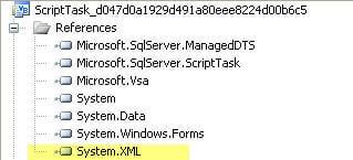 ssis script task system.xml