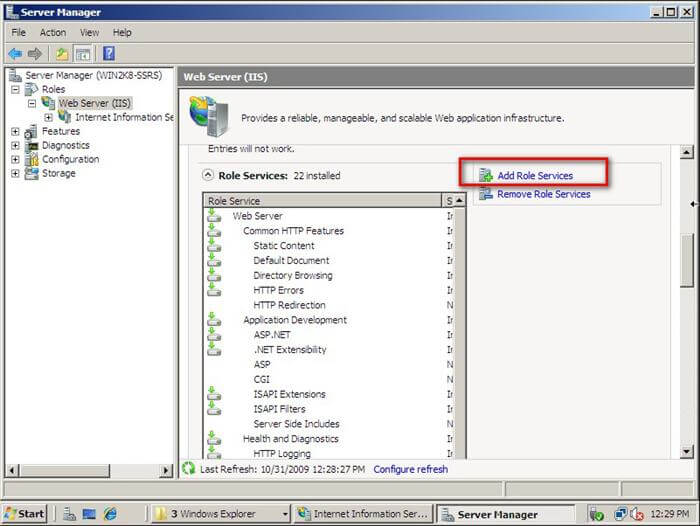 iis manager  for windows 7 32-bit software