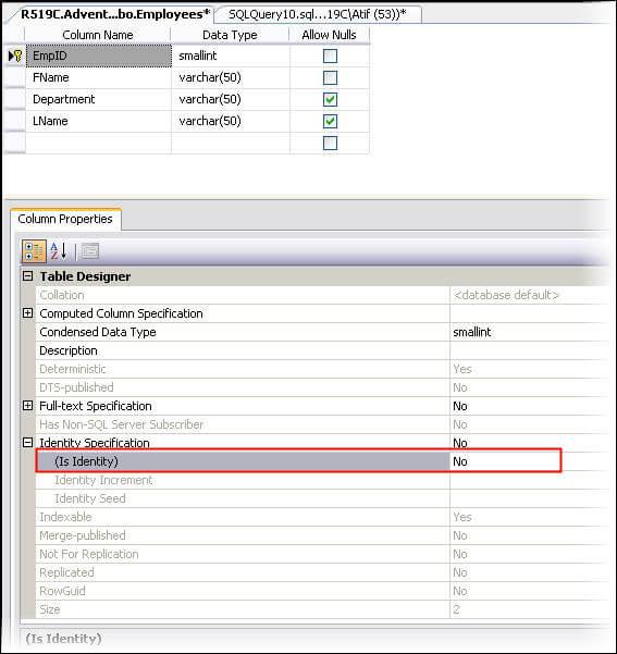 Step by step entity framework tutorials sharmili - Alter table add column not null ...