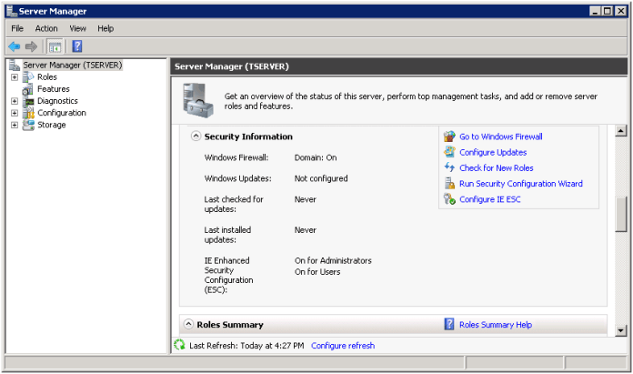 enable the default port of SQL Server 2008 in Windows Firewall for user connectivity