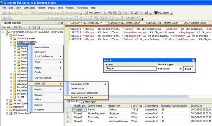 SSMS Tools Pack Add-in