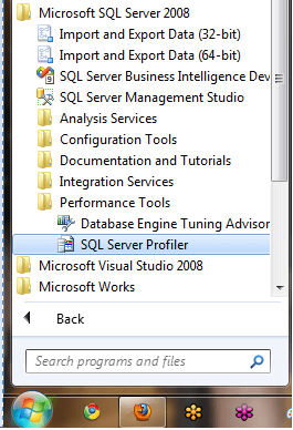 From the start menu go to all programs, under SQL Server 2008 program menu