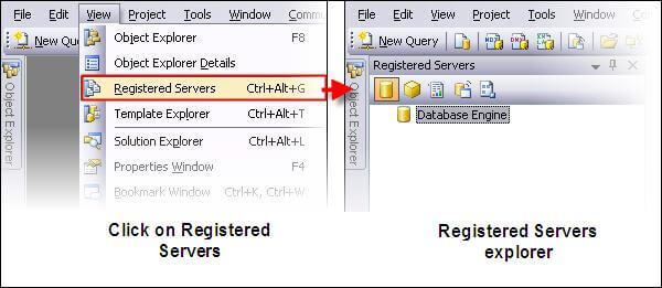 there may be a slight difference in the SSMS 2008 and SSMS 2005 interfaces, but both work on the same principal