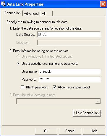 The Destination will also default to SQL Server Native Client 10.0