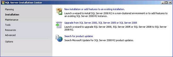To download SQL Server 2008 R2 Express navigate to SQL Server 2008 R2 Express Installation Options