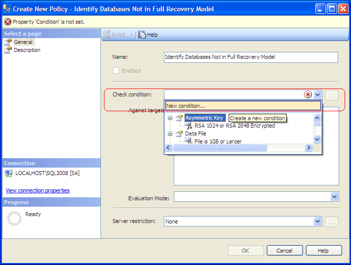 Connect to a SQL Server 2008 Instance using SQL Server 2008 Management Studio and expand Management