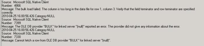 both SQL 2005 Servers need to be on Service Pack 3