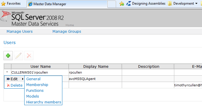 enter multiple Active Directory or local groups