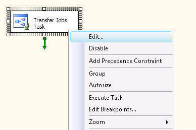 demonstrate you how you can transfer jobs and logins using the Transfer Jobs Task and Transfer Logins Task respectively without writing any code