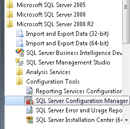 steps required to enable Extended Protection are located in the SQL Server Configuration Manager