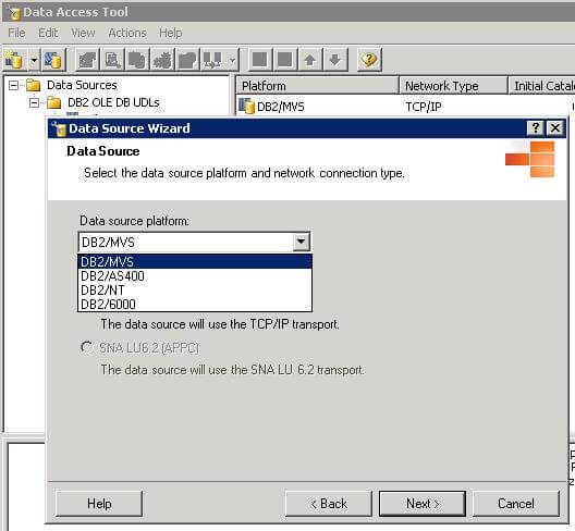 How to create a SQL Server link server to IBM DB2