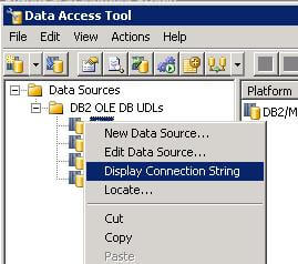 we are now ready to create our SQL to DB2 link server
