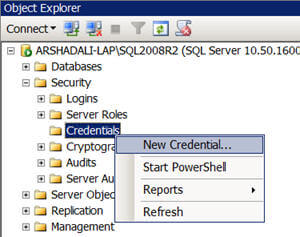 create a job with a single job step which will execute a SSIS package using a proxy account