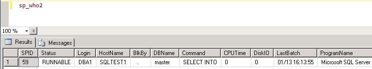 connect to sql server using the newly created user