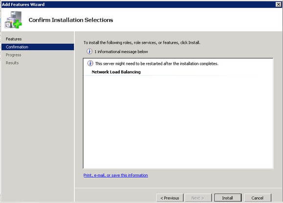 you can include .netframework3.5.1 features as well as this will be used by the sql server2008 r2 installation