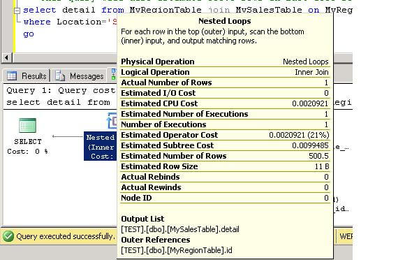 using the filtered statistics feature in sql server 2008