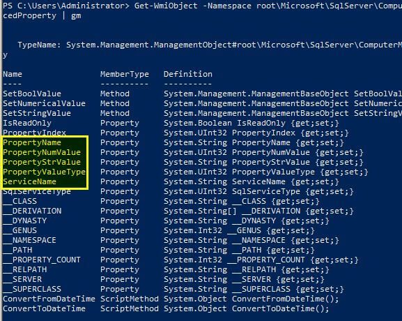 one of the best things that PowerShell offers is the ease in finding out what information can be returned from an object