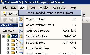 xevents feature of sql 2008