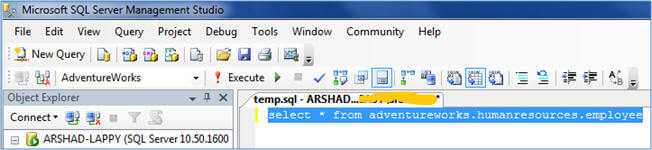 changing code case in ssms