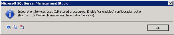 enable clr for a sql server instance