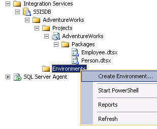 ssis package deployment model