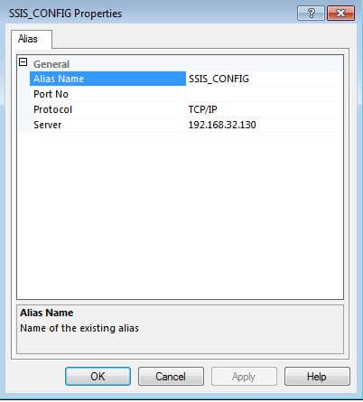 set up a sql server alias