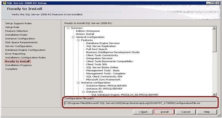 Standardize SQL Server Installations with Configuration Files